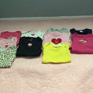 Other - Baby girl 3 month bodysuits Fall/Winter